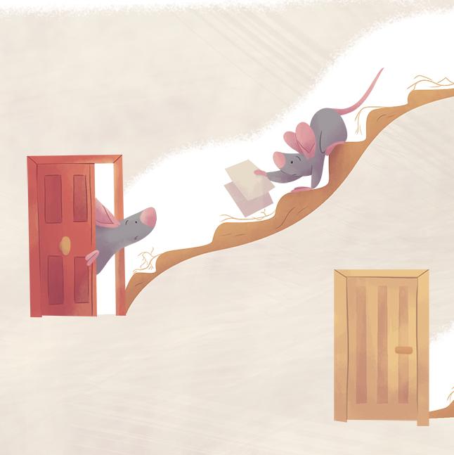 sneak peek ilustracion infantil ratonera