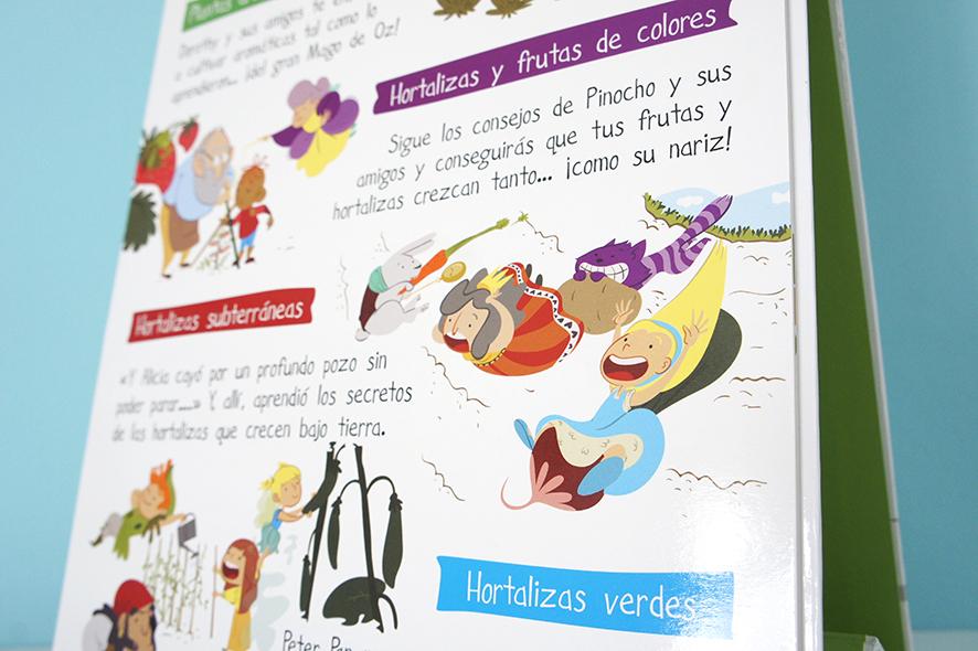 Mi primer huerto en casa portada libro infantil urbano ilustración Children book illustration urban garden Alicia Alice vegetables