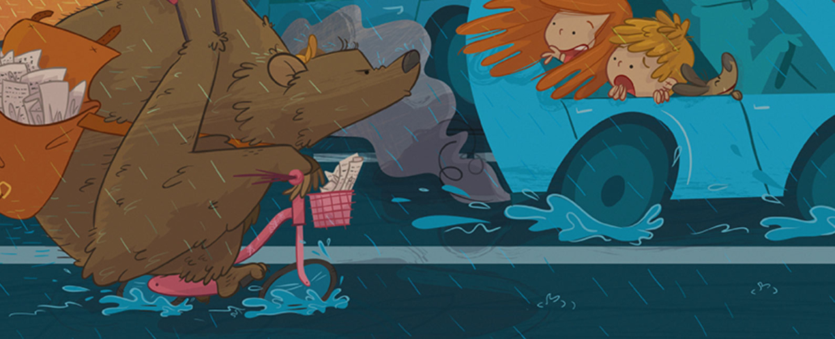 ilustratour premio plum pudding grizzly bear ganadora 2015 maverick children's book illustration ilustración infantil