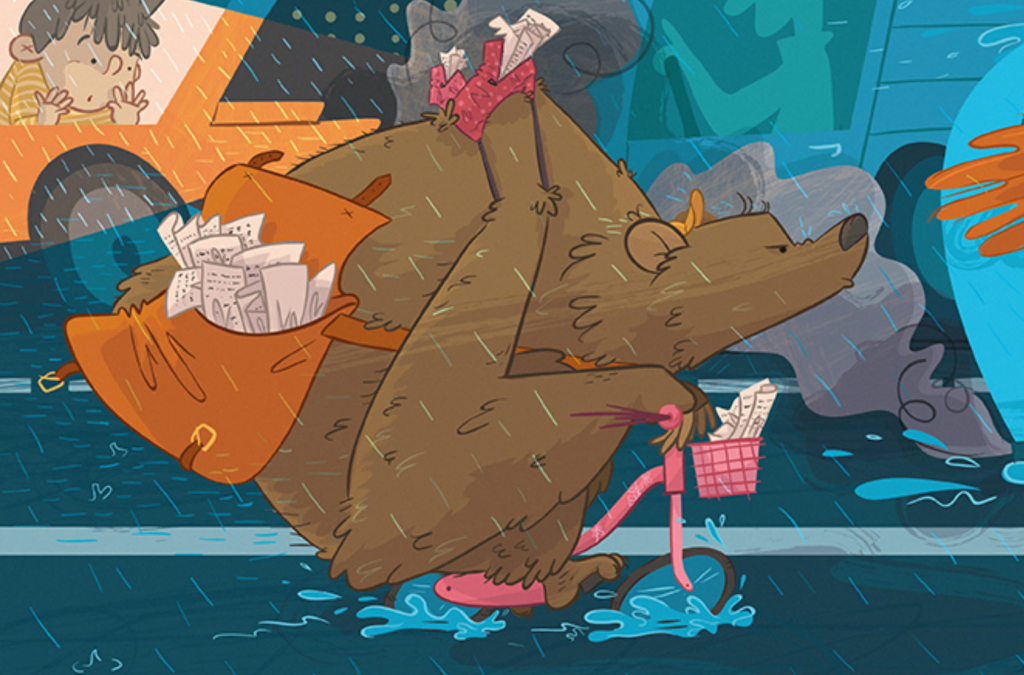 ilustratour premio plum pudding grizzly bear ganadora 2015 maverick children's book illustration ilustración infantil