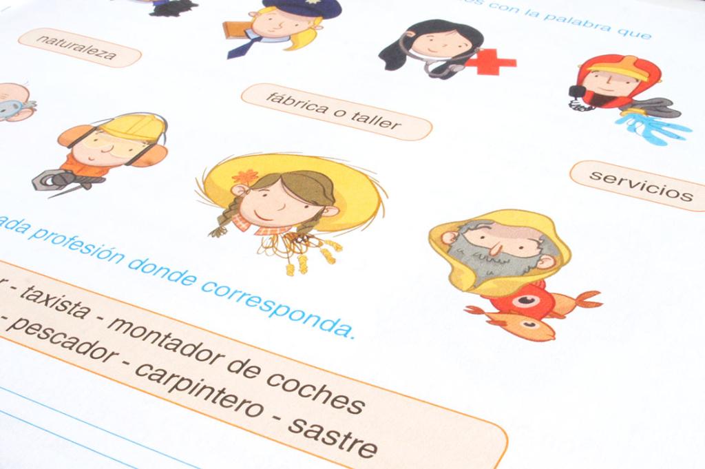 ilustración infantil ilustradora infantil Anaya libro de texto ciencias primaria educational book illustration children's book illustrator science primary school