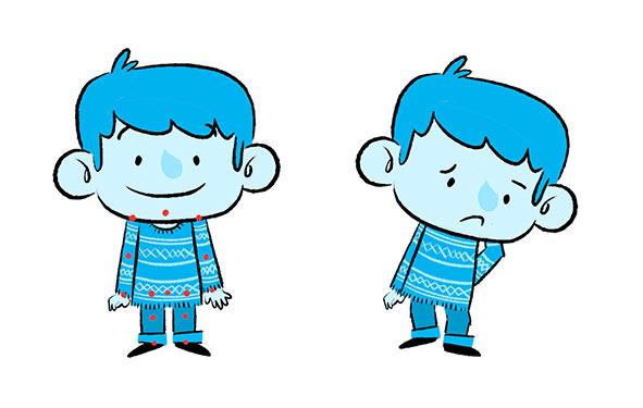 Banco Sabadell animación 2D ilustración infantil Navidad Xmas cabalgata Reyes Magos 2016 Mr John Sample animation character design diseño personajes