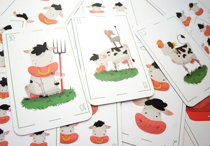 card deck sketches scan farm animal pig hen turkey cow playing card baraja española animales de granja pavo cerdo vaca gallina juego de cartas rey