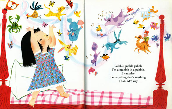 classic children's book illustration illustrator ilustrador infantil clásico old ilustración infantil Mary Blair