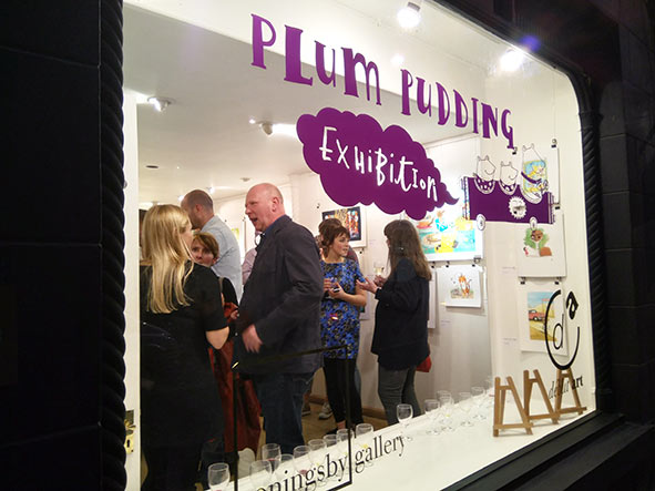 Plum Pudding agency exhibition Coningsby Gallery London exposición children's book artist illustration ilustración infantil ilustrador Londres