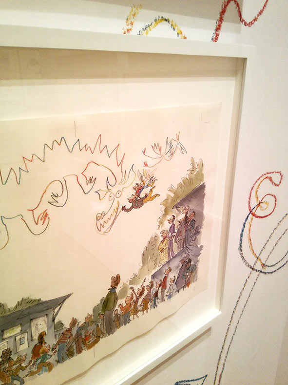 Quentin Blake House of illustration london londres ilustración infantil children's book illustrator ilustrador Roal Dahl