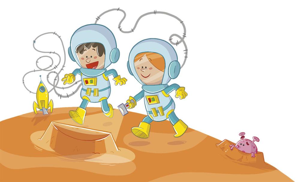 libro de texto SM libro de la selva baloo jungle book textbook educational book funny children illustration ilustracion infantil