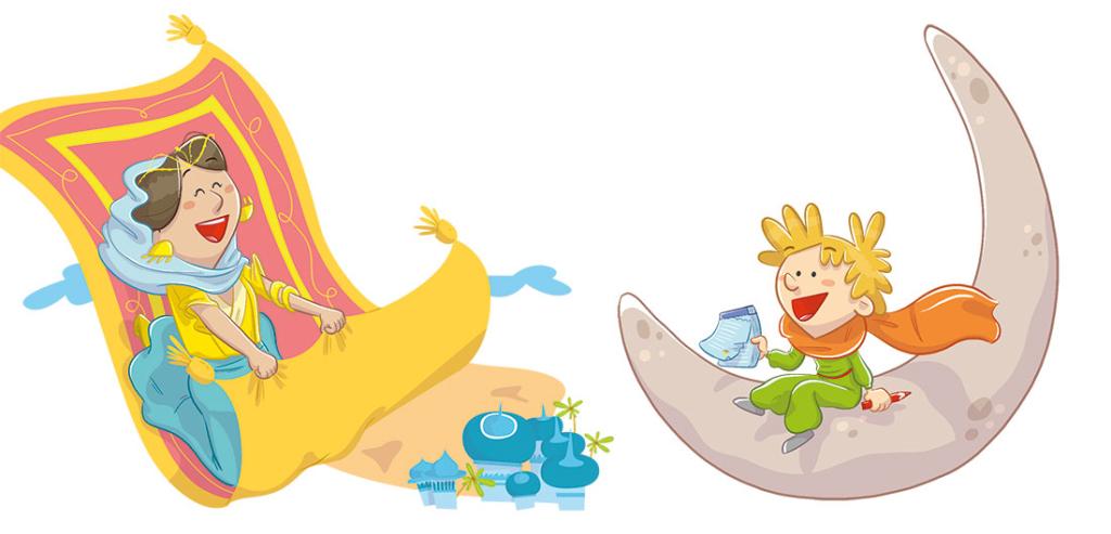 libro de texto SM libro de la selva baloo jungle book textbook educational book funny children illustration ilustracion infantil principito little prince gloria fuertes leonardo da vinci nemo
