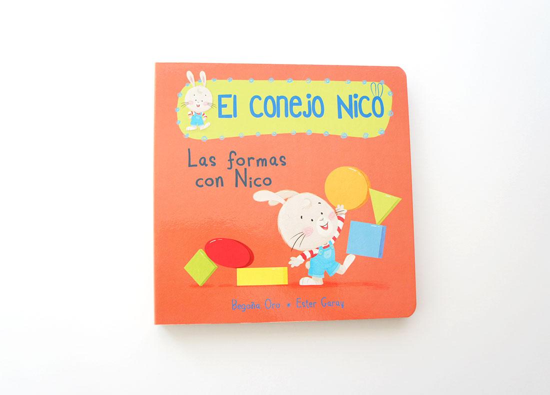 Las formas con Nico ( Conejo Nico 4 )