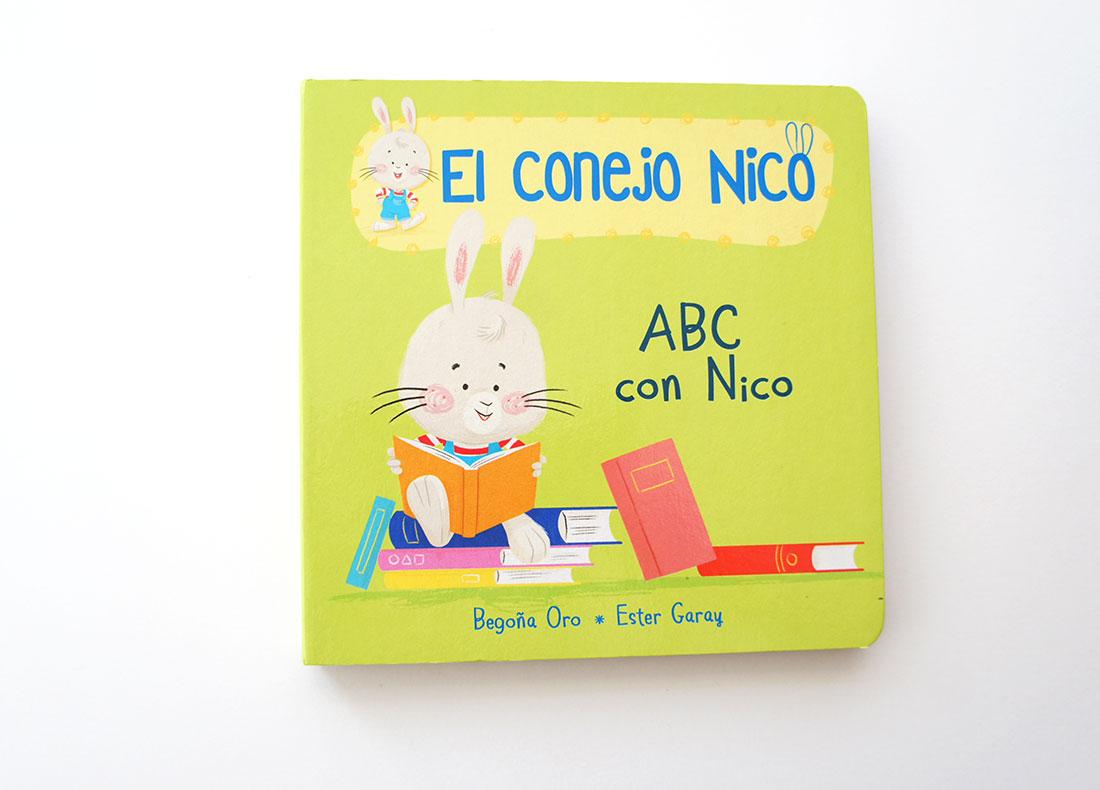 ABC con Nico ( Conejo Nico 3 )