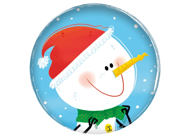 merry christmas xmas feliz navidad postal greeting card postcard snowman muñeco de nieve feliz funny fun snow ilustracion illustration plum pudding