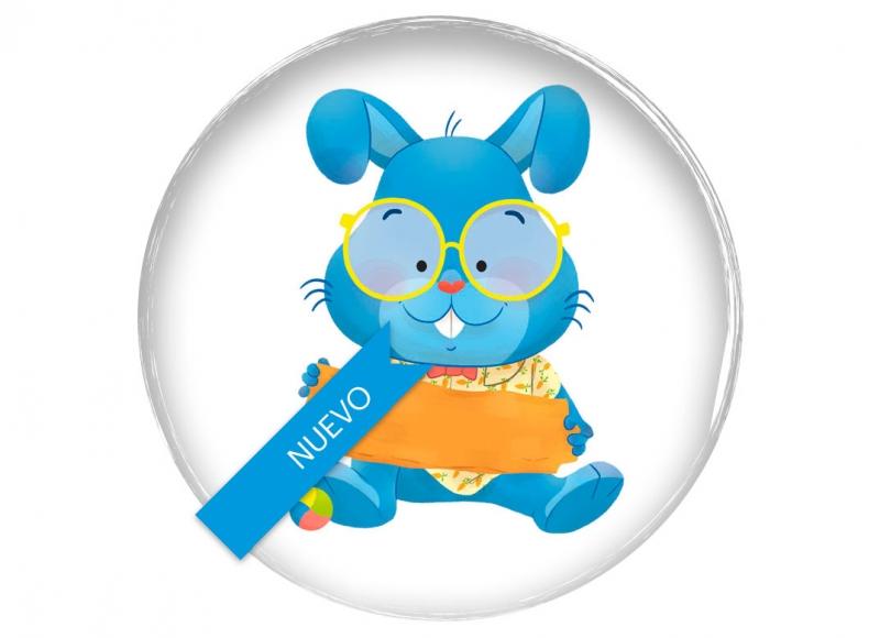 Yoyo books ricky the rabbit animal cute children board book illustration toddler conejo mono tierno divertido funny belgium belgique belgica clap clap series