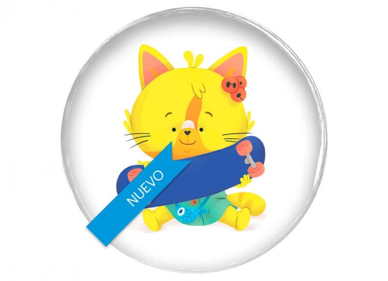 Yoyo books coco le chat animal cute children board book illustration toddler gato cat mono tierno divertido funny belgium belgique belgica clap clap series