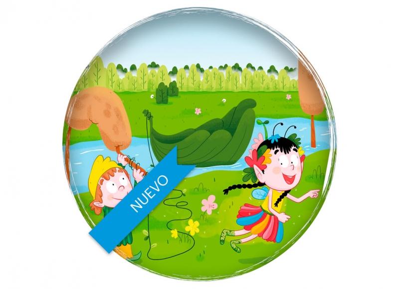 hada duende magia fairy elf magic children's book educational book libro educativo libro de texto edebe illustration ilustracion plum pudding