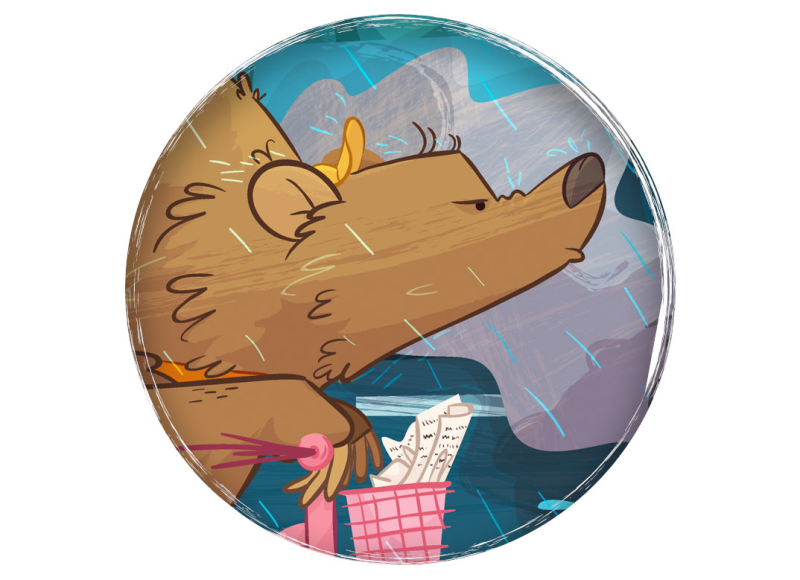 ganadora plum pudding 2015 ilustratour first prize winner children's book illustration bear