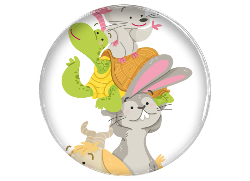 educational book illustration ilustración infantil libro de texto vector P5 preescolar baby kidlit barcanova animal esquimal