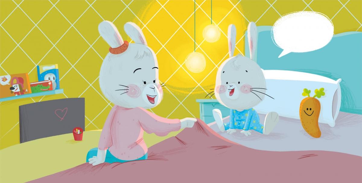 ¿Vamos a cenar?  ( Conejo Nico 1 )